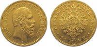 20 Mark Gold 1876  F Württemberg Karl 1864-1891. Sehr schön - vorzüglic... 395,00 EUR kostenloser Versand