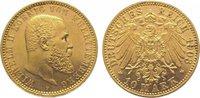 10 Mark Gold 1903  F Württemberg Wilhelm II. 1891-1918. Winz. Kratzer, ... 345,00 EUR kostenloser Versand