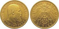 20 Mark Gold 1897  F Württemberg Wilhelm II. 1891-1918. Fast vorzüglich  395,00 EUR kostenloser Versand