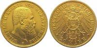 20 Mark Gold 1900  F Württemberg Wilhelm II. 1891-1918. Vorzüglich  410,00 EUR kostenloser Versand