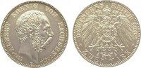 2 Mark 1902  E Sachsen Albert 1873-1902. Leicht berieben, winz. Randfeh... 175,00 EUR  zzgl. 5,00 EUR Versand