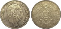 5 Mark 1901  E Sachsen Albert 1873-1902. Feine Patina. Kl. Randfehler, ... 675,00 EUR kostenloser Versand