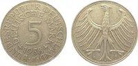 5 Mark 1958  J Bundesrepublik Deutschland  Sehr schön  295,00 EUR kostenloser Versand