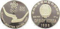 500 Won 1988 Korea-Nord  Polierte Platte  29,00 EUR  zzgl. 5,00 EUR Versand