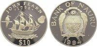 10 Dollars 1994 Nauru  Polierte Platte  29,00 EUR  zzgl. 5,00 EUR Versand