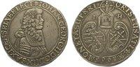 1/3 Taler 1666  HI Sachsen-Albertinische Linie Johann Georg II. 1656-16... 325,00 EUR kostenloser Versand