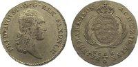 1/6 Taler 1808 Sachsen-Albertinische Linie Friedrich August I. 1806-182... 85,00 EUR  zzgl. 5,00 EUR Versand
