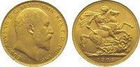Sovereign Gold 1908 Großbritannien Edward VII. 1901-1910. Vorzüglich - ... 365,00 EUR kostenloser Versand