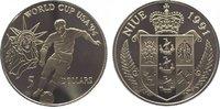 5 Dollars 1991 Niue Unter Verwaltung Neuseelands seit 1922. Polierte Pl... 9,00 EUR  zzgl. 5,00 EUR Versand