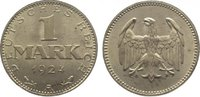 1 Mark 1924  A Weimarer Republik  Vorzüglich - Stempelglanz  25,00 EUR  zzgl. 5,00 EUR Versand