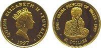 20 Dollars Gold 1997 Tuvalu  Polierte Platte  64,00 EUR  zzgl. 5,00 EUR Versand