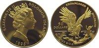 50 Dollars Gold 1993 Solomon Islands  Polierte Platte  245,00 EUR  zzgl. 5,00 EUR Versand