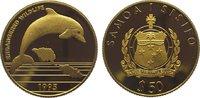 50 Dollars Gold 1995 Samoa Westsamoa 1962-1997. Polierte Platte  245,00 EUR  zzgl. 5,00 EUR Versand