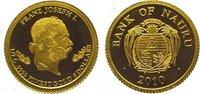 5 Dollars Gold 2010 Nauru  Polierte Platte  34,00 EUR  zzgl. 5,00 EUR Versand