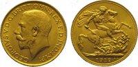 Sovereign Gold 1912 Großbritannien George V. 1910-1936. Vorzüglich - St... 345,00 EUR kostenloser Versand