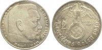 2 Reichsmark 1936  G Drittes Reich  Sehr schön  10,00 EUR  zzgl. 5,00 EUR Versand