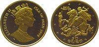 50 Euro Gold 1998 Großbritannien-Isle of Man Elizabeth II. Polierte Pla... 295,00 EUR kostenloser Versand