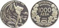 1000 Leva 1996 Bulgarien Republik seit 1992. Polierte Platte  24,00 EUR  zzgl. 5,00 EUR Versand