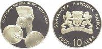 10 Leva 2000 Bulgarien Republik seit 1992. Polierte Platte  39,00 EUR  zzgl. 5,00 EUR Versand