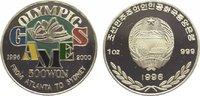 500 Won 1996 Korea-Nord  Polierte Platte  39,00 EUR  zzgl. 5,00 EUR Versand