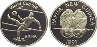 5 Kina 1997 Papua Neu Guinea  Polierte Platte  34,00 EUR  zzgl. 5,00 EUR Versand