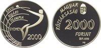 2000 Forint 1999 Ungarn Republik ab 1989. Polierte Platte  24,00 EUR  zzgl. 5,00 EUR Versand
