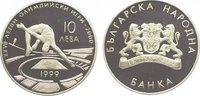 10 Leva 1999 Bulgarien Republik seit 1992. Polierte Platte  24,00 EUR  zzgl. 5,00 EUR Versand