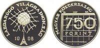 750 Forint 1997 Ungarn Republik ab 1989. Polierte Platte  14,00 EUR  zzgl. 5,00 EUR Versand