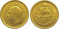 1/2 Pahlavi Gold 1960 Iran Mohammed Reza Pahlavi, Shah (SH 1320-1358) 1... 175,00 EUR  zzgl. 5,00 EUR Versand