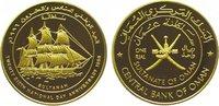 Omani Rial Gold 1996 Oman Quabus bin Sa'id seit 1970. Polierte Platte  2250,00 EUR kostenloser Versand