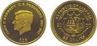 25 Dollars Gold 2000 Liberia Republik seit 1847. Polierte Platte  39,00 EUR  zzgl. 5,00 EUR Versand