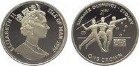 Crown 1999 Großbritannien-Isle of Man Elizabeth II. Polierte Platte  29,00 EUR  zzgl. 5,00 EUR Versand