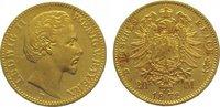 20 Mark Gold 1872  D Bayern Ludwig II. 1864-1886. Sehr schön - vorzügli... 415,00 EUR kostenloser Versand