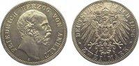 2 Mark 1896  A Anhalt Friedrich I. 1871-1904. Vorzüglich - Stempelglanz  795,00 EUR kostenloser Versand