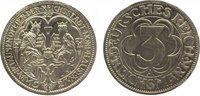 3 Mark 1927  A Weimarer Republik  Minimal berührt, Polierte Platte  475,00 EUR kostenloser Versand