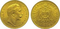 20 Mark Gold 1904  A Preußen Wilhelm II. 1888-1918. Vorzüglich  335,00 EUR kostenloser Versand