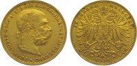 20 Kronen Gold 1896 Römisch Deutsches Reich Franz Joseph I. 1848-1916. ... 275,00 EUR kostenloser Versand