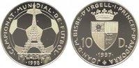 10 Diners 1997 Andorra  Polierte Platte  29,00 EUR  zzgl. 5,00 EUR Versand