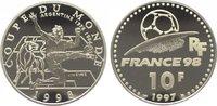 10 Francs 1997 Frankreich Fünfte Republik seit 1959. Polierte Platte  19,00 EUR  zzgl. 5,00 EUR Versand