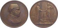 Bronzemedaille 1867 Türkei Abdul Aziz (AH ...