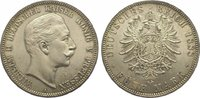 5 Mark 1888  A Preußen Wilhelm II. 1888-1918. Minimale Belagreste, winz... 975,00 EUR kostenloser Versand