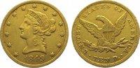 10 Dollars Gold 1849 Vereinigte Staaten von Amerika  Sehr schön  825,00 EUR kostenloser Versand