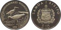 10 Tala 1992 Samoa Westsamoa 1962-1997. Polierte Platte  29,00 EUR  zzgl. 5,00 EUR Versand
