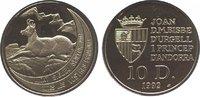 10 Diners 1992 Andorra  Polierte Platte  24,00 EUR  zzgl. 5,00 EUR Versand
