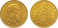 20 Mark Gold 1888  A Preußen Friedrich III. 1888. Vorzüglich +  345,00 EUR kostenloser Versand
