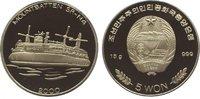 5 Won 2000 Korea-Nord  Polierte Platte  29,00 EUR  zzgl. 5,00 EUR Versand
