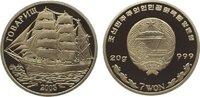 7 Won 2003 Korea-Nord  Polierte Platte  39,00 EUR  zzgl. 5,00 EUR Versand