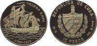 10 Pesos 2000 Kuba / Cuba Republik seit 1902. Polierte Platte  29,00 EUR  zzgl. 5,00 EUR Versand