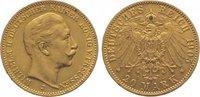 20 Mark Gold 1905  J Preußen Wilhelm II. 1888-1918. Sehr schön - vorzüg... 345,00 EUR  plus 10,00 EUR verzending
