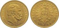 20 Mark Gold 1886  A Preußen Wilhelm I. 1861-1888. Vorzüglich  365,00 EUR  plus 10,00 EUR verzending